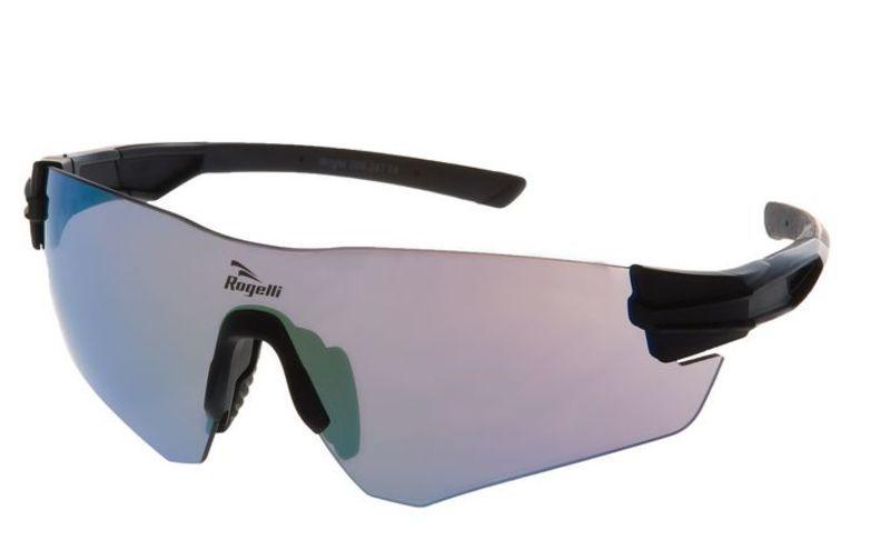 Športové okuliare Rogelli WRIGHT s výmennými sklami, čierne 009.247.
