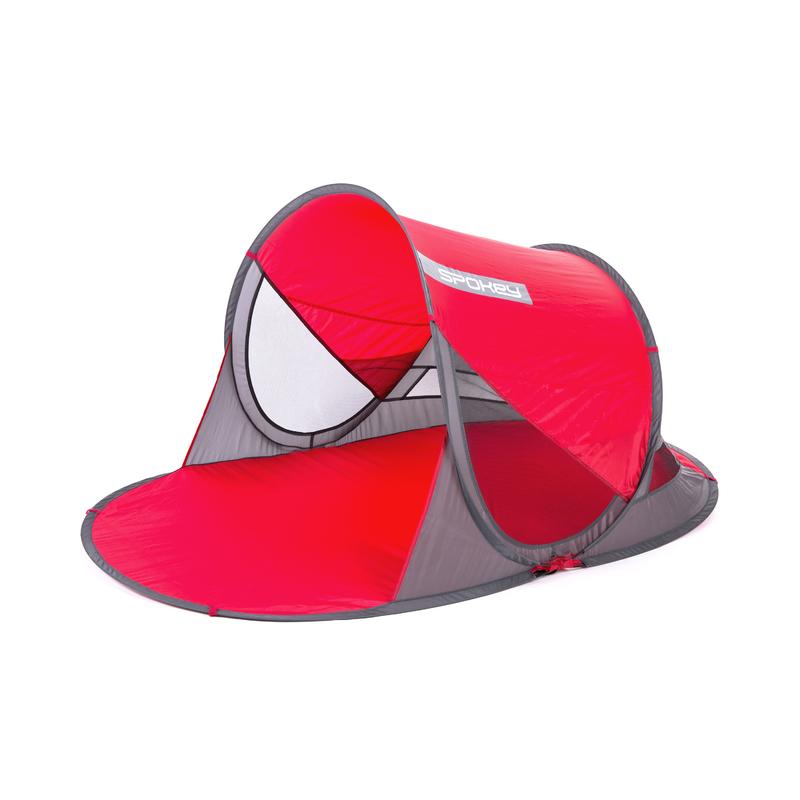 Spokey STRATUS Samorozkládací plážová paravan, UV 40, 190x120x90 cm vo troch farbách