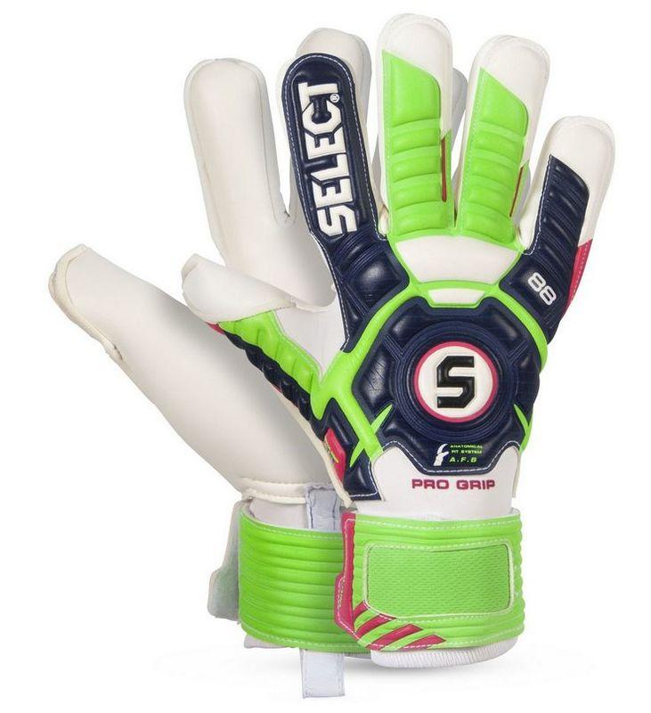 Brankárske rukavice Select Goalkeeper gloves 88 Pro Grip modro zelená