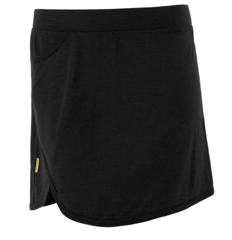 Dámska športové sukňa Merino Active čierna MERINO ACTIVE M