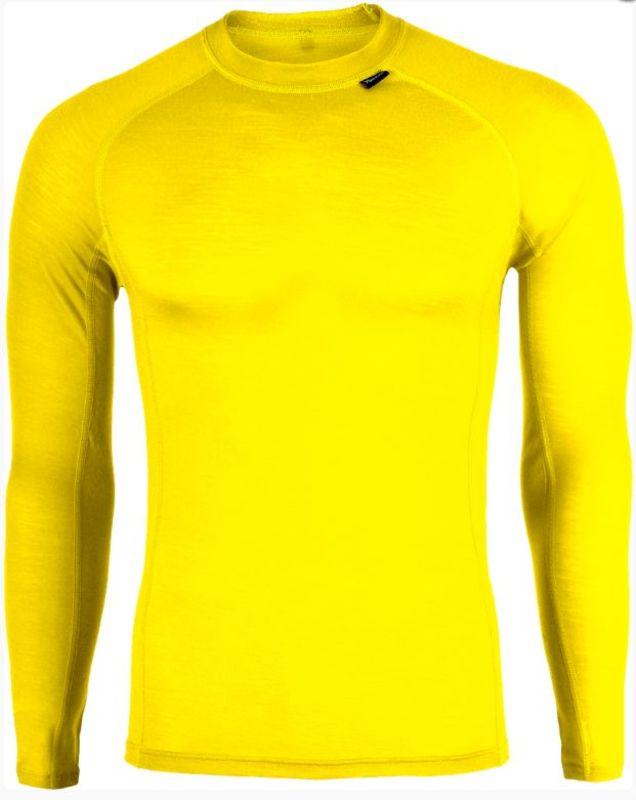 Pánske triko Silvini LANA MT565 yellow S