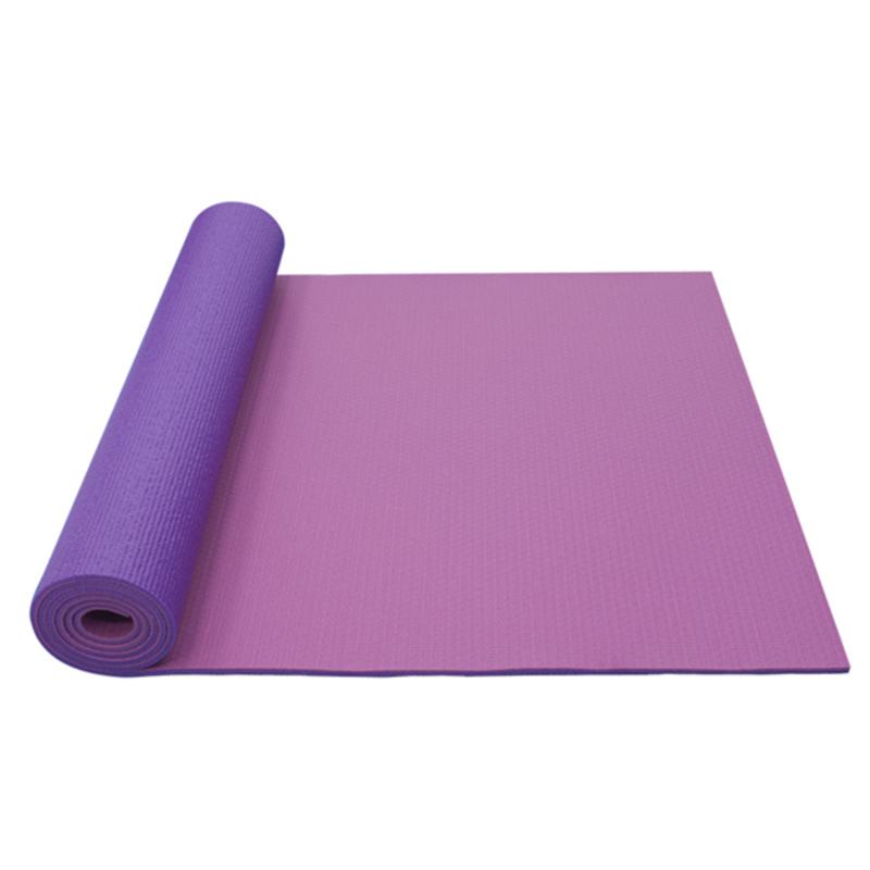 Podložka na jógu YATE yoga mat dvojvrstvová / ružová / fialová