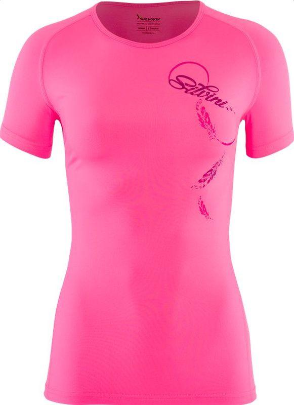 Dámske triko Silvini GIONA WT1205 pink XXXXL