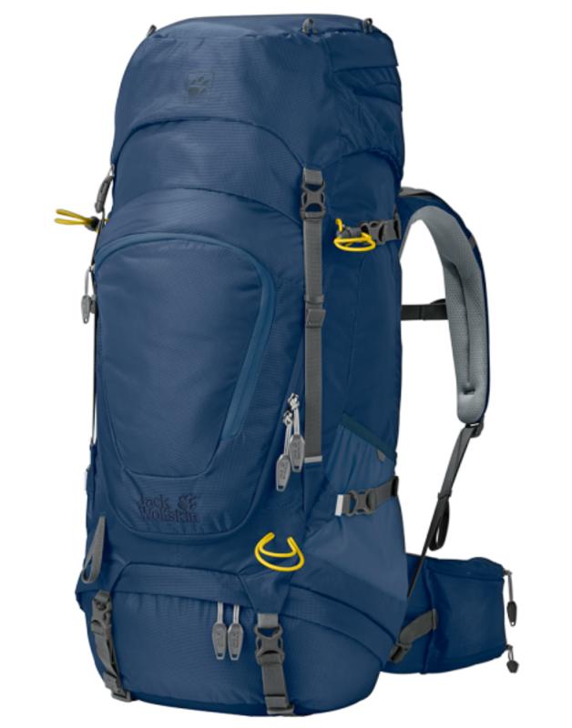 Batoh JACK WOLFSKIN Highland Trail XT 45 Women modrý