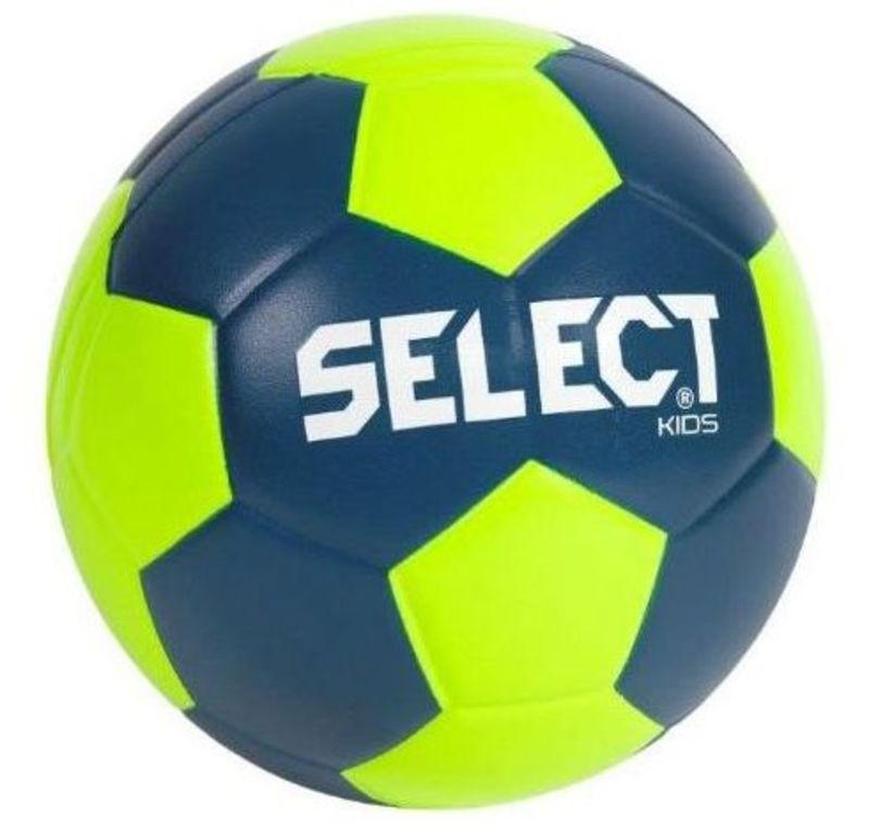 Hádzanárska lopta Select Foam ball Kids III modro zelená