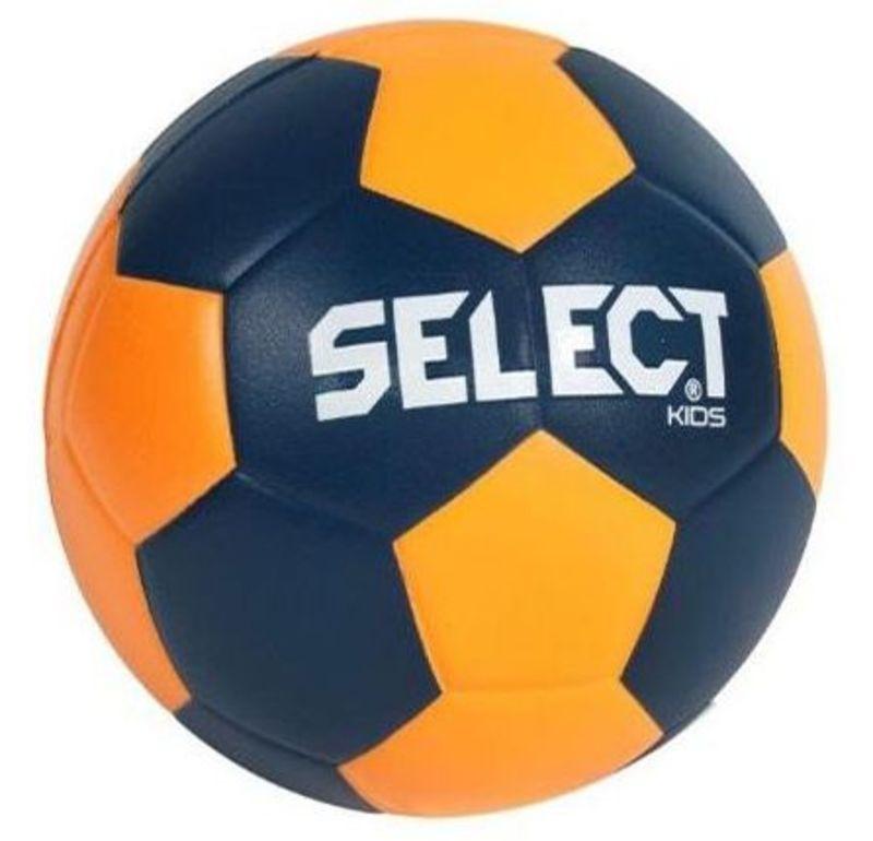 Hádzanárska lopta Select Foam ball Kids III modro oranžová