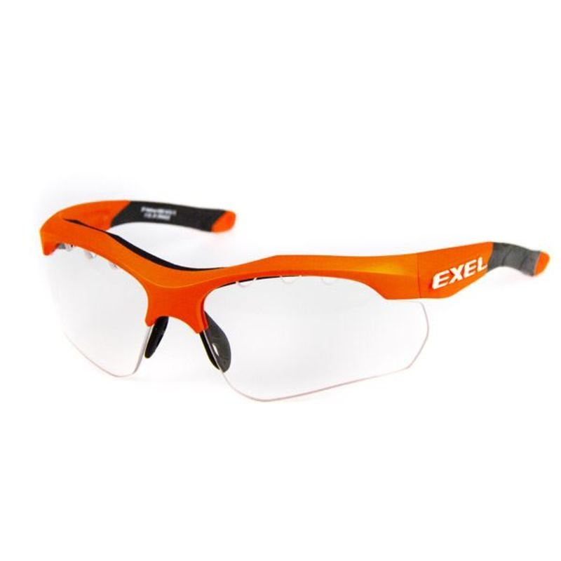 Ochranné brýleexel X100 EYE GUARD senior orange