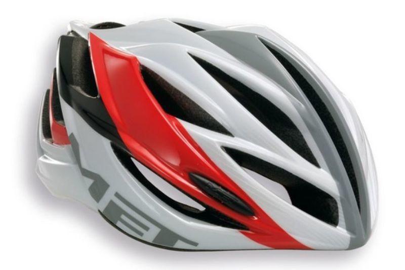 Helma MET Forte čierna / biela / červená -60/62