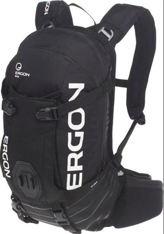 Batoh Ergon BA3 E Protect čierna