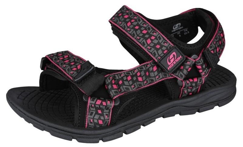 Sandále HANNAH Feet Black / Red 3 UK