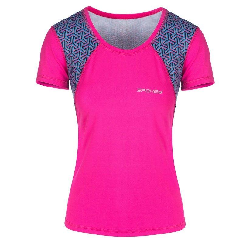 Spokey fitness triko RAIN ružové