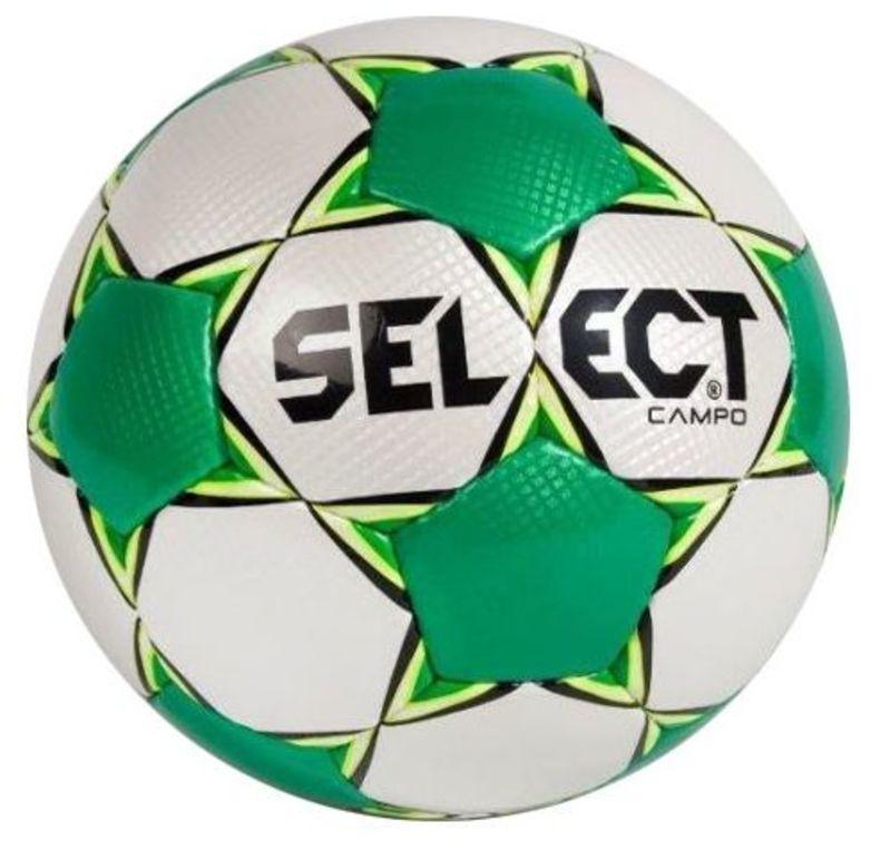 Futbalový lopta Select FB Campo bielo zelená