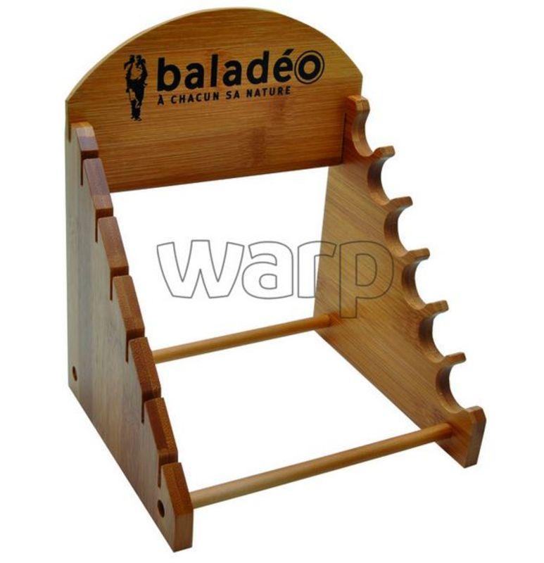 Drevený stojan na nože Baladéo PRE002