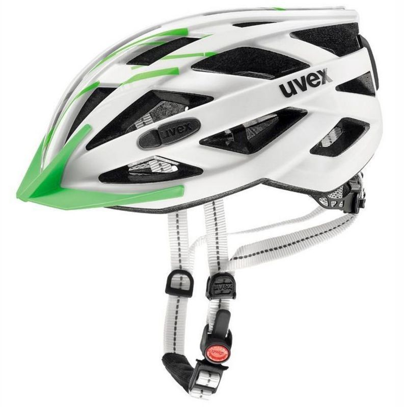 Helma Uvex City I-Vo, white-green mat