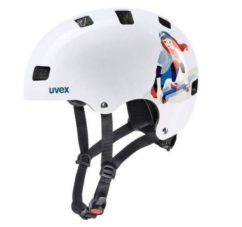 Helma Uvex Kid 3, white skate