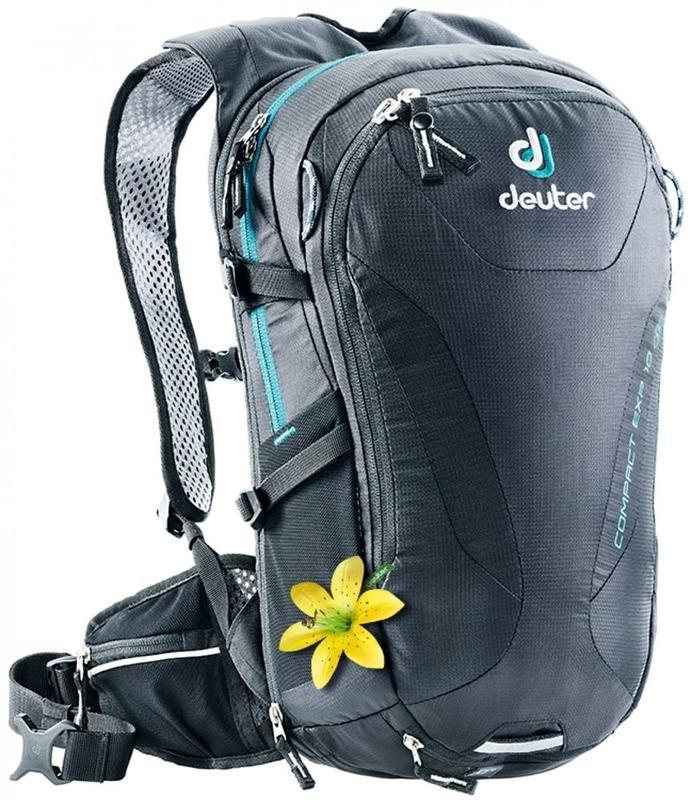 Batoh Deuter Compact EXP 10 SL black