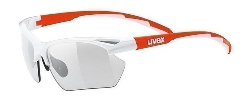 Športové okuliare Uvex Sportstyle 802 Vario, white orange (8301)