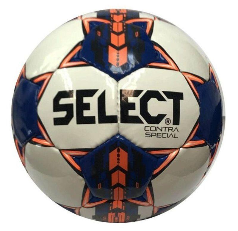 Futbalový lopta Select FB Contra Special bielo modrá