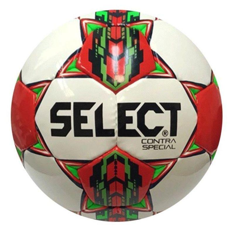 Futbalový lopta Select FB Contra Special bielo červená