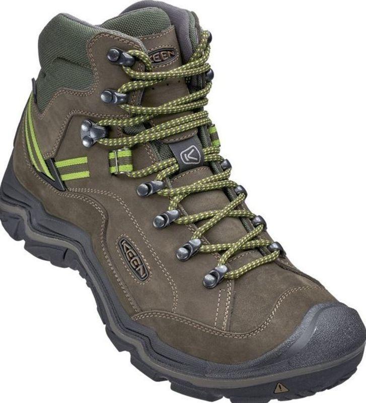 Pánske topánky Keen galleo MID WP M, black / greenery