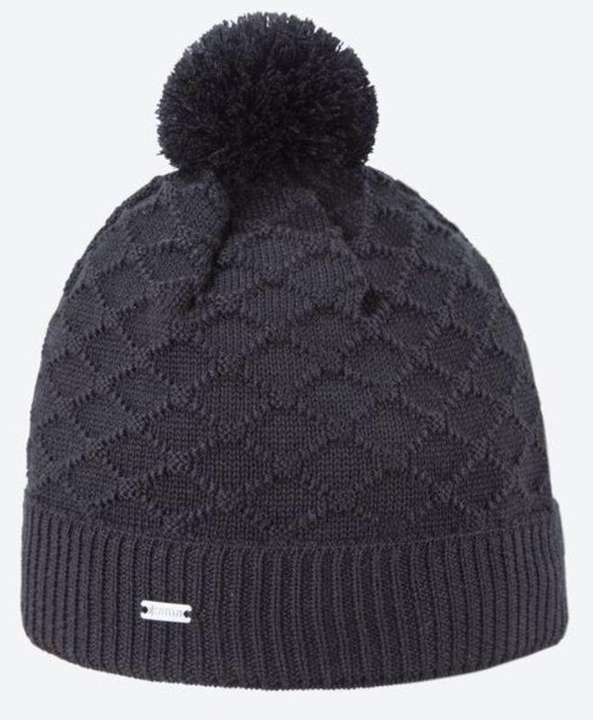 1db0b62f5 Pletená Merino čiapka Kama A124 110 čierna