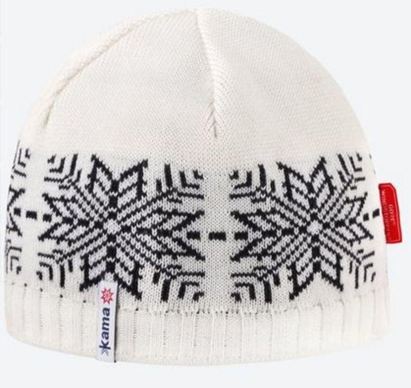 2b772fd9a6d8 Pletená Merino čiapka Kama AW64 101 prírodne biela L