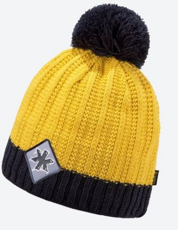 Pletená Merino čiapka Kama K59 102 žltá