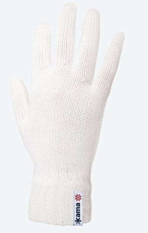 d5c5f718a38a Pletené Merino rukavice Kama R102 101 prírodne biela L