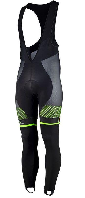 5c71255f3a962 Exkluzívne cyklistické nohavice Rogelli Ritmo 002.261. čierno-zelené