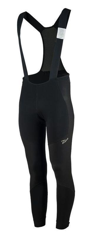 Zimné softshellové nohavice Rogelli Artico NO PAD, 002.311. čierne