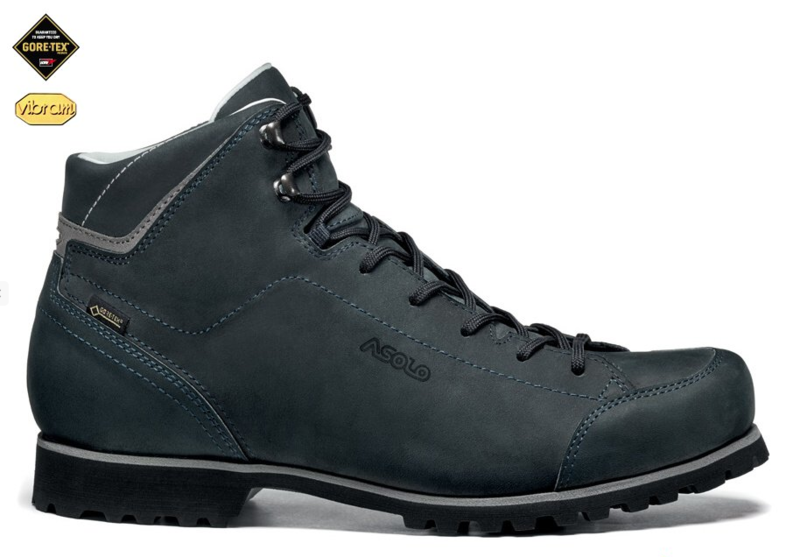 Topánky Asolo Icon GV MM navy / black blue/A830