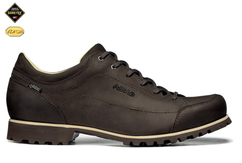 Topánky Asolo Town GV: MM dark brown/A551
