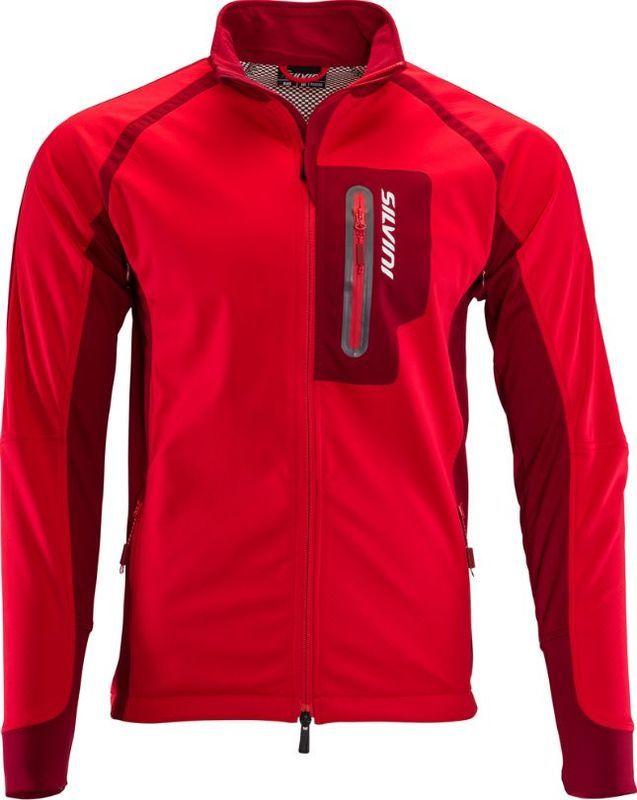 Pánska softshellová bunda Silvini Anteo MJ1301 red XXL