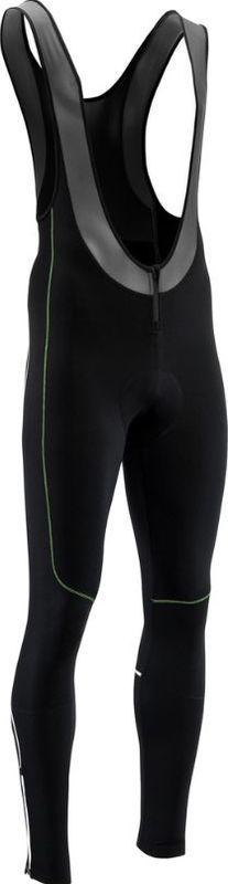 Pánske elastické zimný nohavice Silvini RUBENZA MP1321 black green XL