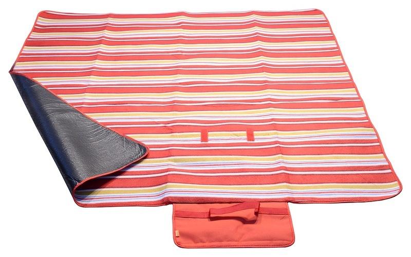 Pikniková deka Cattara FLEECE 150x135cm červená