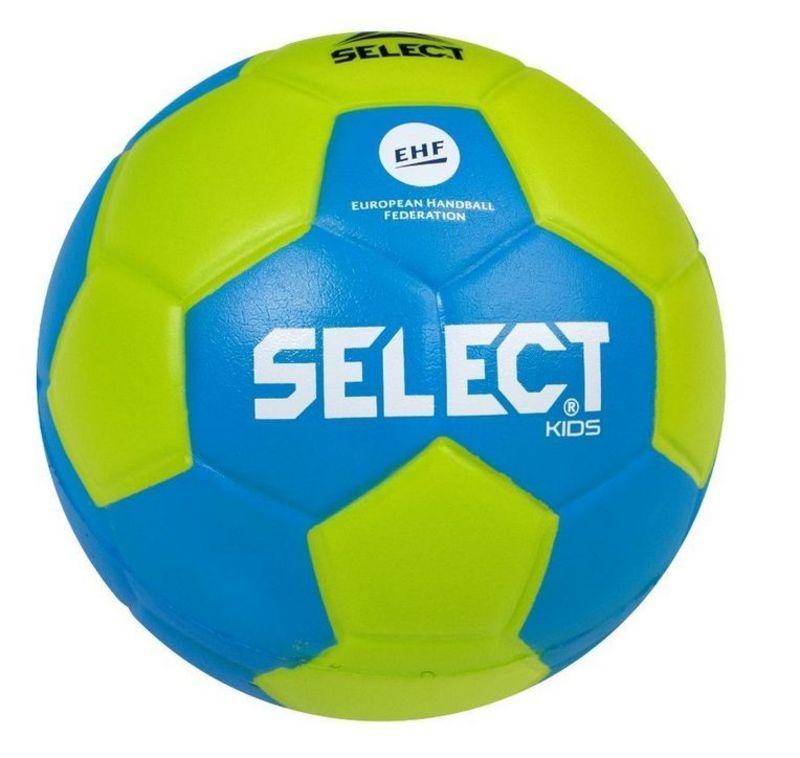 Hádzanárska lopta Select Foam ball Kids IV zeleno modrá