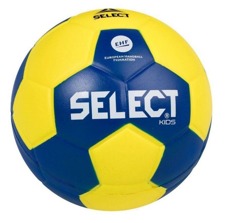 Hádzanárska lopta Select Foam ball Kids IV žlto modrá