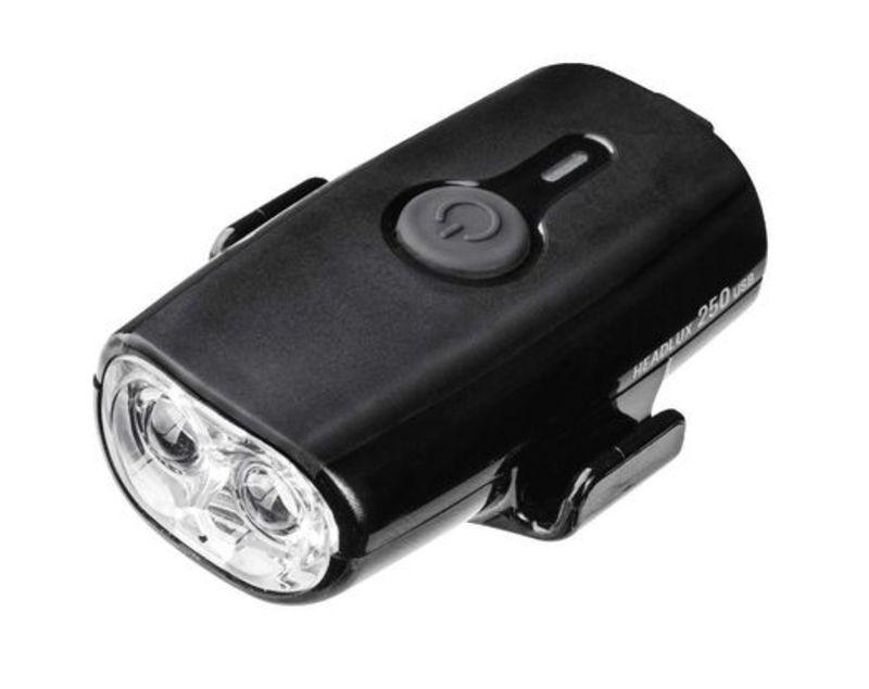 Svetlo Topeak na prilbu HEADLUX USB 250
