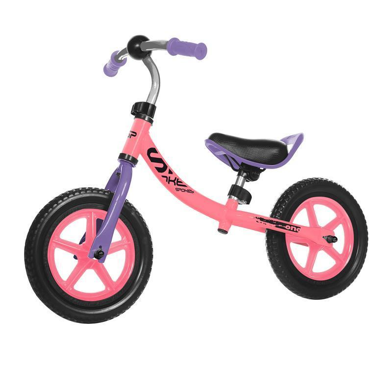 Spokey ONO Detské odrážadlo ružová-fialová