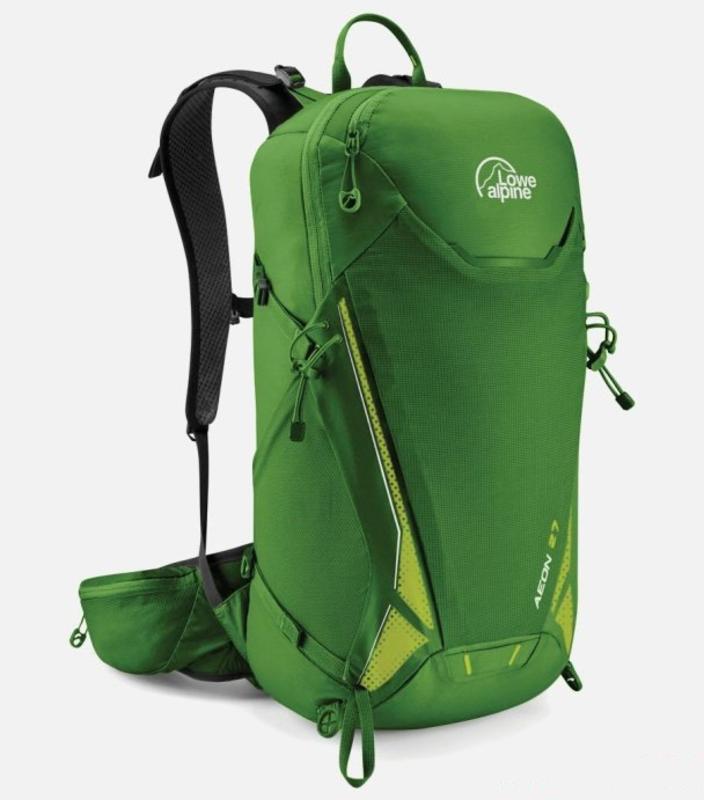 Batoh LOWE ALPINE Aeon 27 Oasis green Predĺžená chrbát