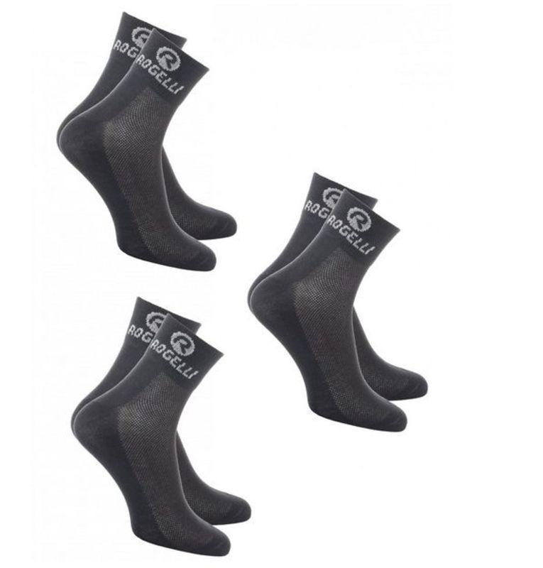 3ba64b9b4074d Funkčný ponožky Rogelli PROMO - 3 páry, čierne 007.011. L (40-43