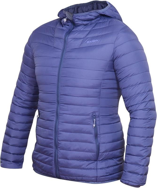 Dámska páperová bunda Dreeser L modrofialová S