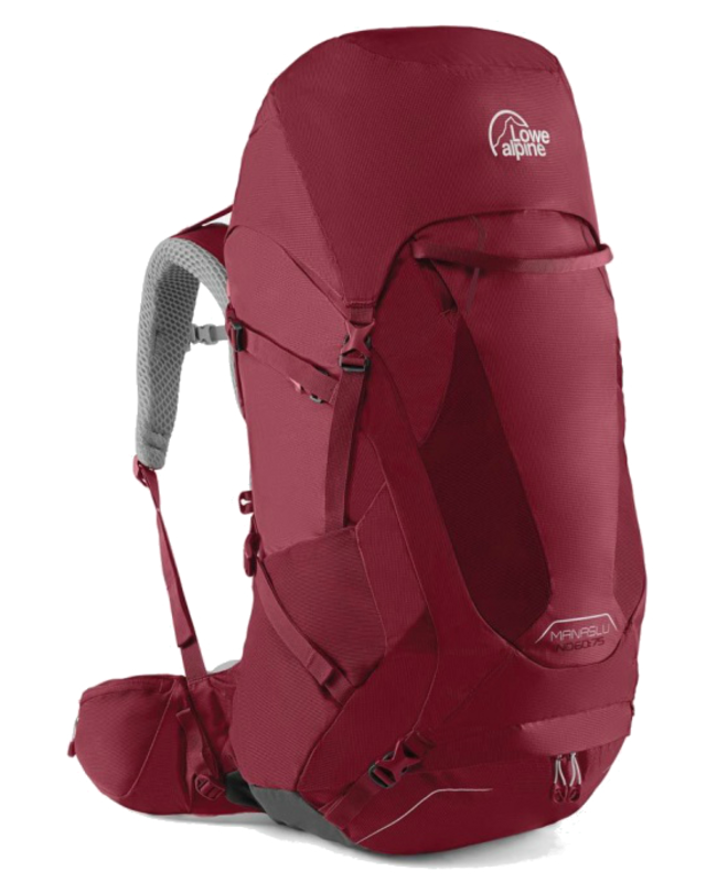 Lowe alpine Axiom Cerro Torre persian zaffre 80l