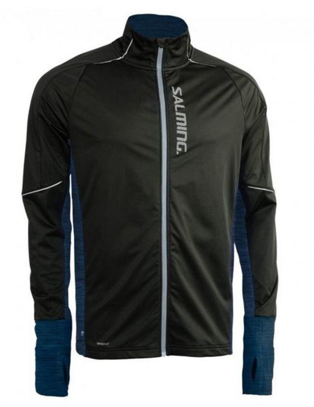 Bunda Salming Thermal Wind Jacket Men Black/Blue Melange S