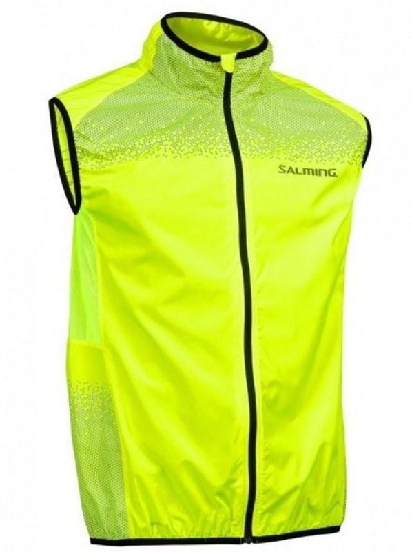 Pánska bežecká vesta Salming Skyline Vest Men Safety Yellow M