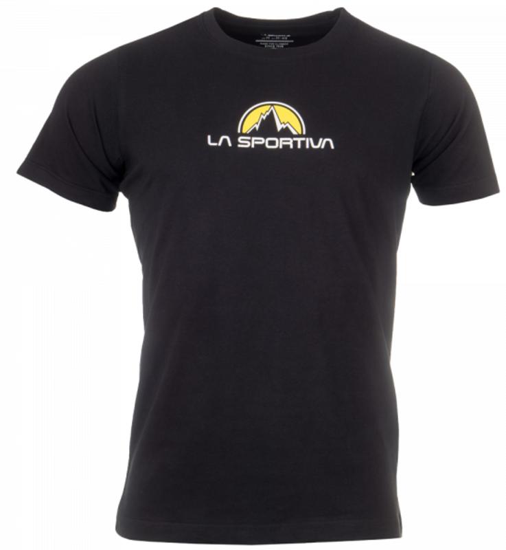 Pánske tričko La Sportiva footstep Tee Men black L