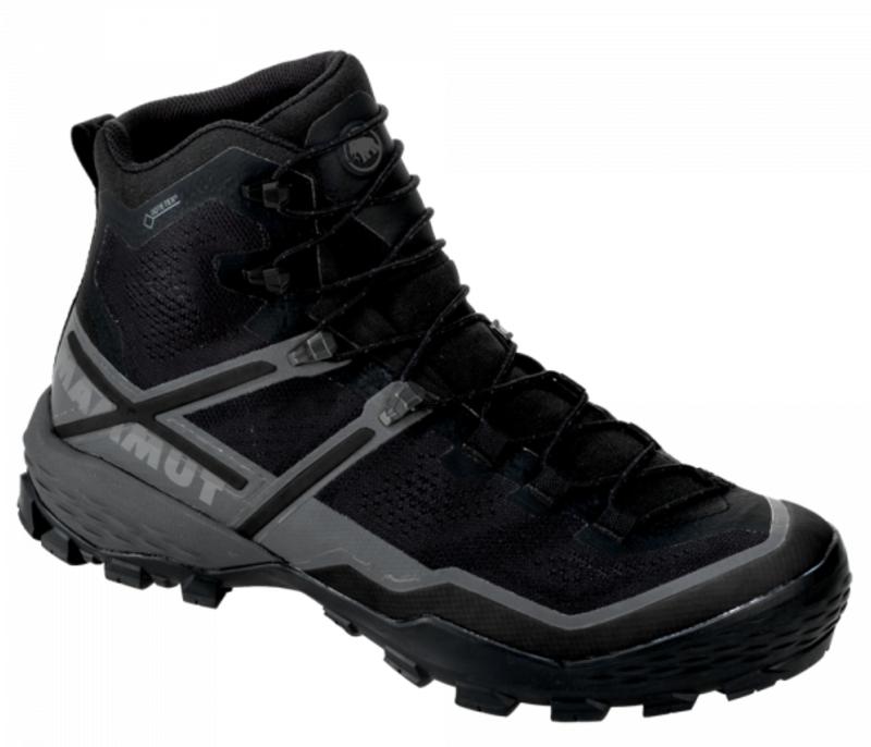 Topánky Mammut Ducan High GTX ® Men black-black 0052