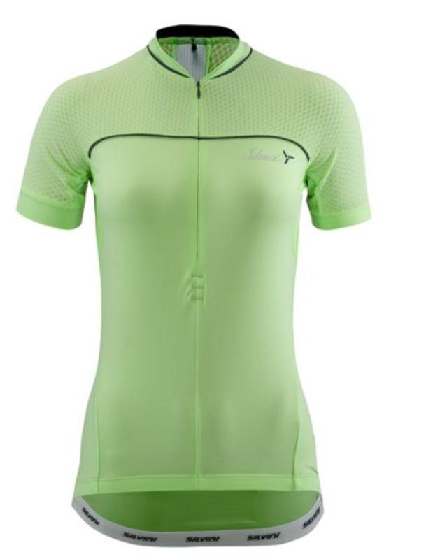 Dámsky cyklistický dres Silvini CATIRINA WD1002 lime