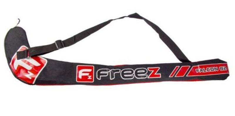 Florbalová taška FREEZ STICKBAG FALCON 82 black / red