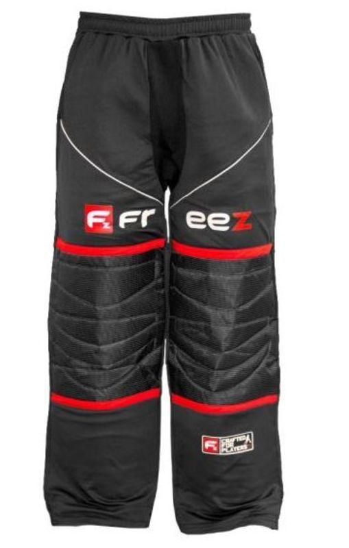 Brankárske nohavice FREEZ Z-80 GOALIE PANT BLACK/RED senior